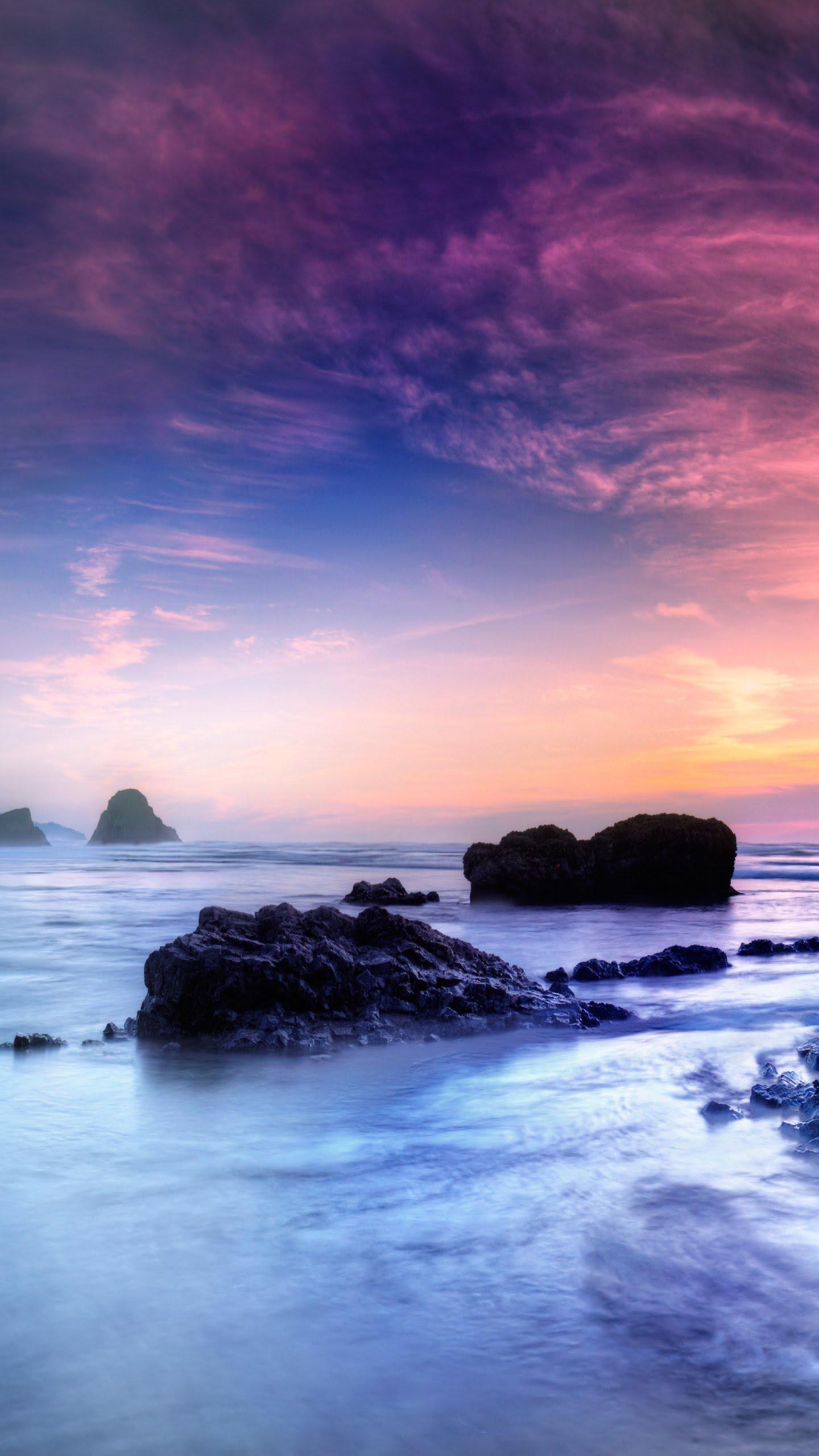 Les couleurs d'un lever de soleil